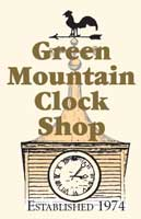 Green Mountain Clock Shop logo